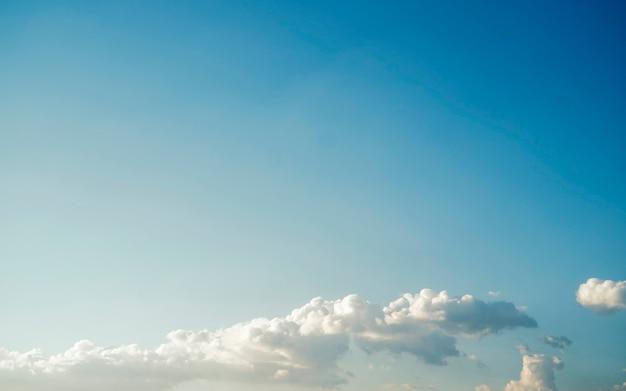 Cielo nuvola natura cielo concetto