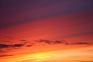 Cielo rosso e colorito