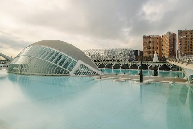 Cinema panoramico nella città delle scienze di valencia