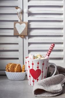 Cioccolata calda con marshmallow