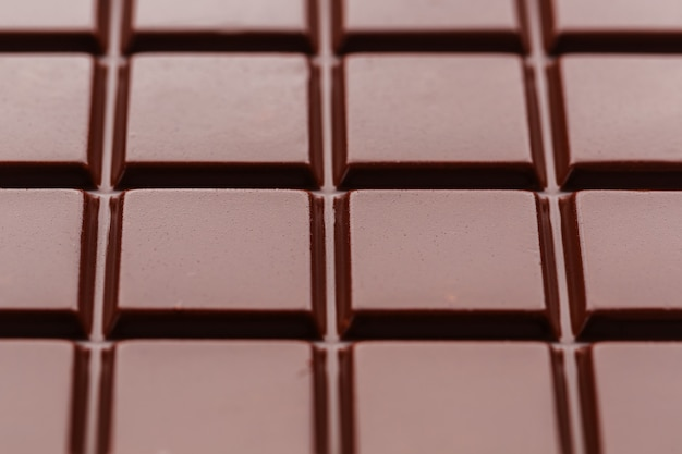 Cioccolato al latte da vicino.