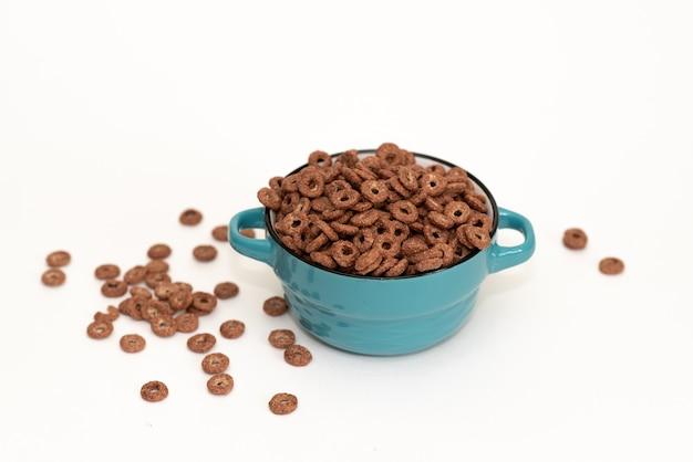 Ciotole di vari cereali dalla vista dall'alto