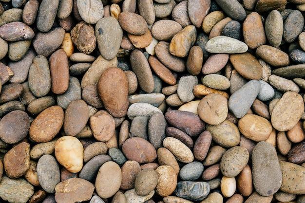 Ciottoli di pietra di fondo