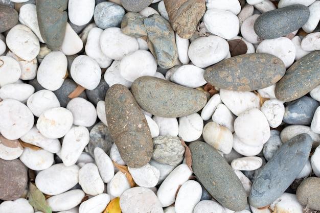 Ciottoli di pietra texture di sfondo