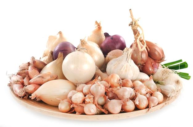 Cipolla, scalogno e aglio