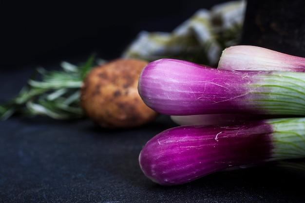 Cipollotti e patate