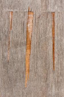 Cippare il legno su una superficie invecchiata