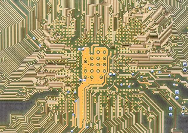 Circuito stampato integrato sul computer