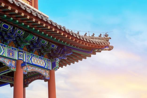 Città antica di qingzhou, provincia di shandong, cina