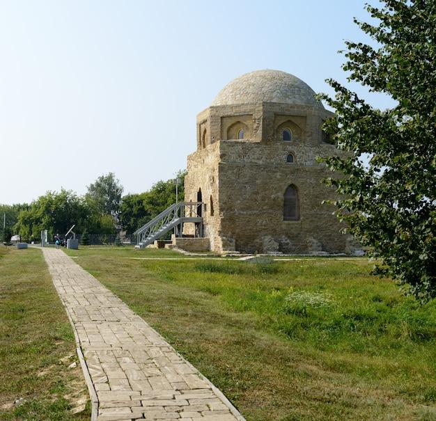 Città di bolgar, tatarstan, russia: black house