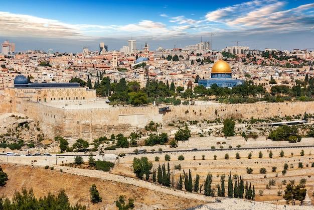 Città di gerusalemme in israele