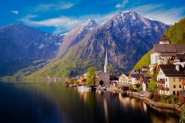 Città di hallstatt in austria.