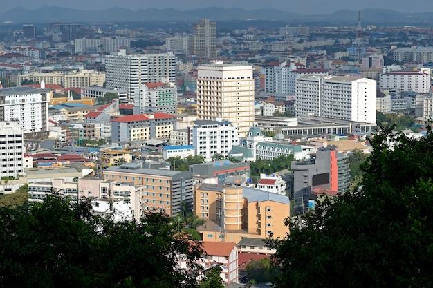 Città di pattaya dalla tailandia