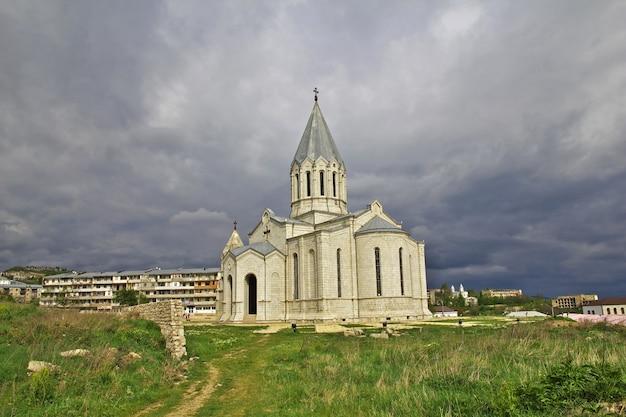 Città di shushi nel nagorno - karabakh, nel caucaso