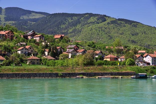 Città di visegrad in bosnia ed erzegovina