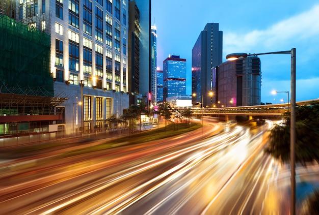 Città moderna di notte