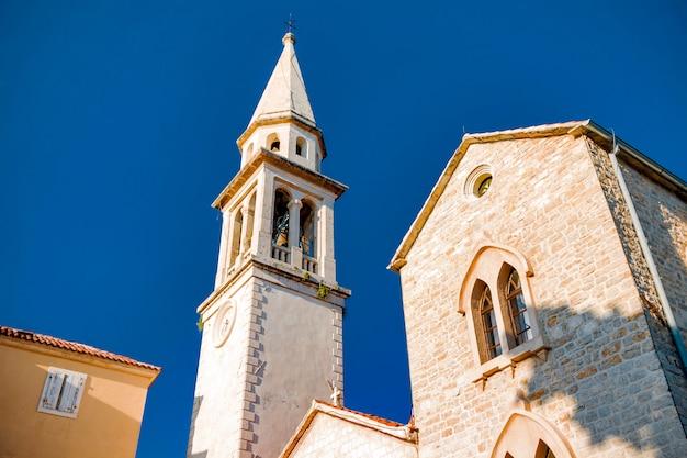 Città vecchia di budava nel montenegro