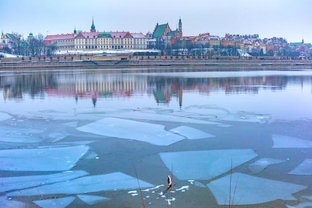 Città vecchia di varsavia, polonia