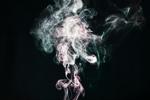 Ciuffi di fumi leggeri