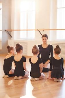 Classe di balletto per bambini