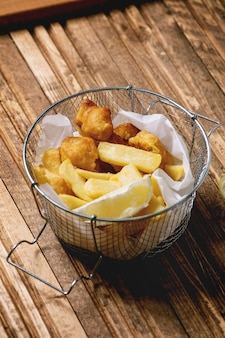 Classico fish and chips