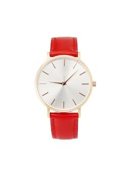 Classico orologio da donna in oro con quadrante bianco