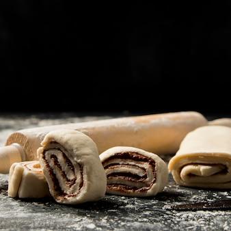 Close-up dessert fatti in casa