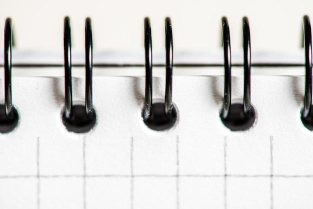 Close-up di notebook, sfondo business senza soluzione di continuità