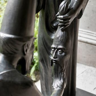 Close-up di statue, san miguel de allende, guanajuato, in messico