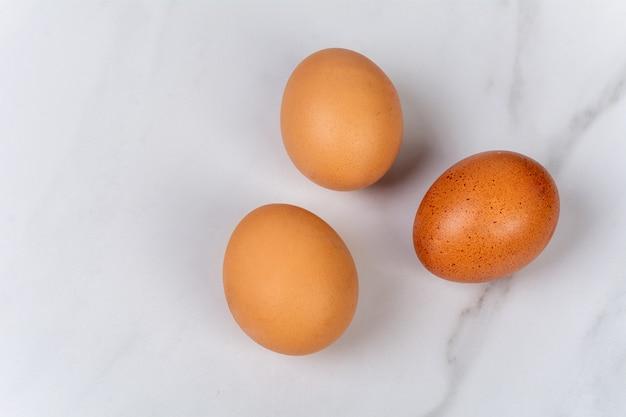 Close-up di uova.