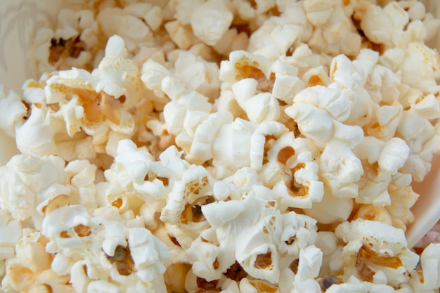 Close-up popcorn dolcezza o dolcezza.
