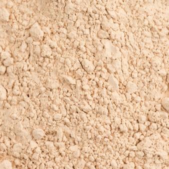 Closeup polvere cosmetici