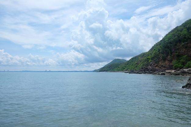 Coastal in provincia di chonburi tempo di giorno di attrazioni turistiche nella tailandia orientale.