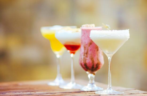 Cocktail nel ristorante.