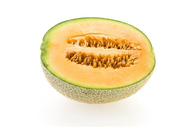 Cocomero sano giallo arancione bianco