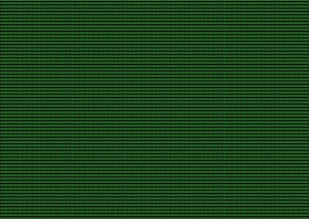 Codice computer verde di uno e zero come sfondo.