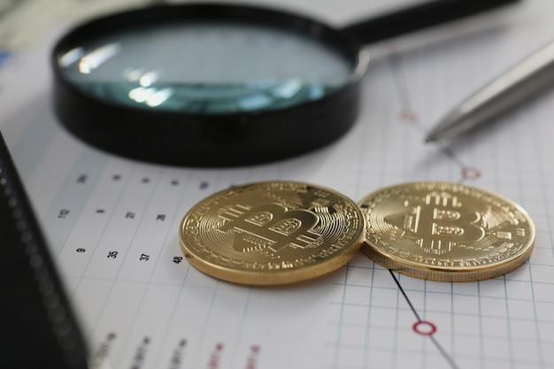 Coin criptovaluta bitcoin contro il