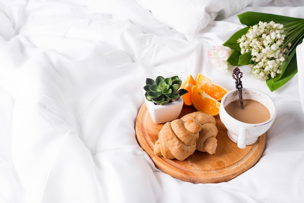 Colazione a letto mattina