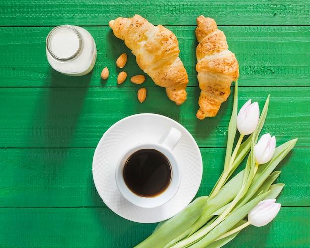 Colazione al croissant