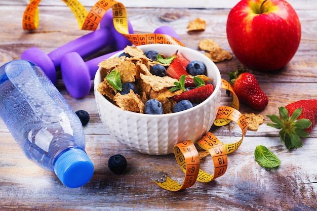Colazione dieta sana
