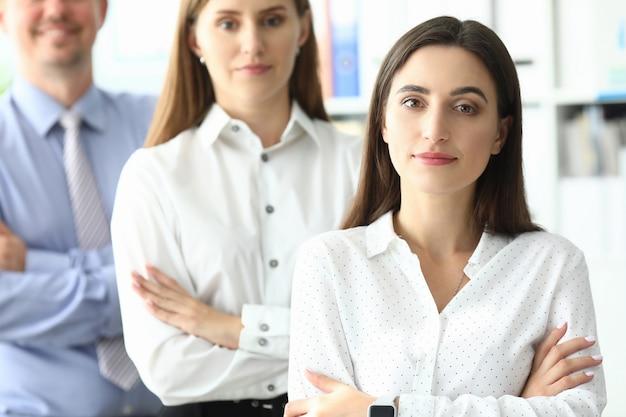Colleghi di lavoro positivi