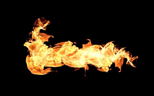 Collezione di fiamme del fuoco
