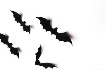 Collezione di pipistrelli inquietanti