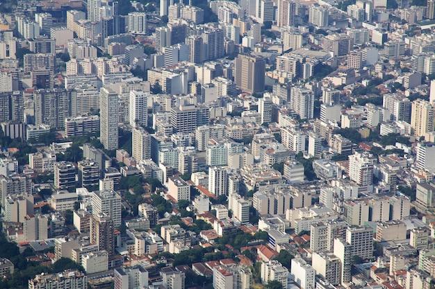 Collina del corcovado a rio de janeiro, brasile