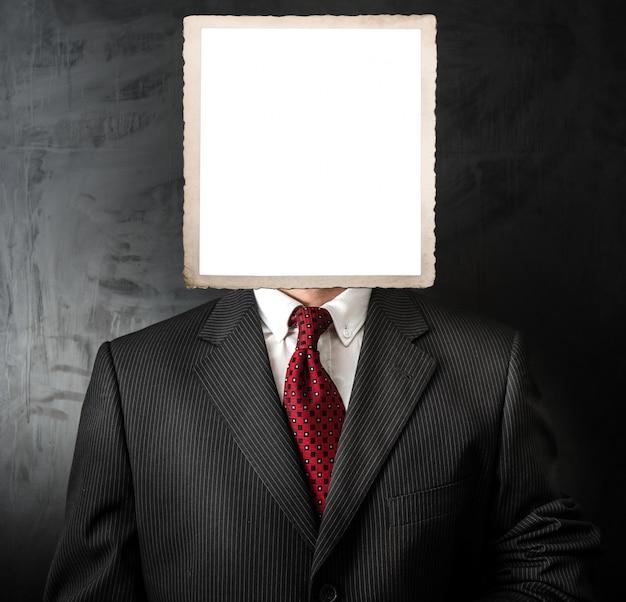 Colloquio di lavoro candidato senza volto