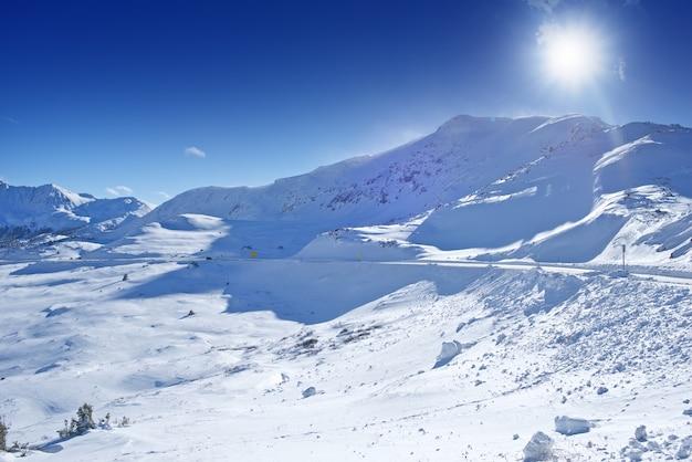 Colorado winter panorama