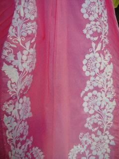 Colore del tessuto progettazione completa, punti, vestiti