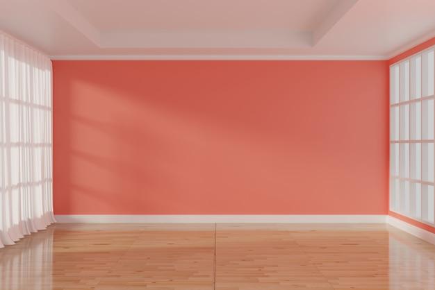 Colore della stanza vuota dell'anno