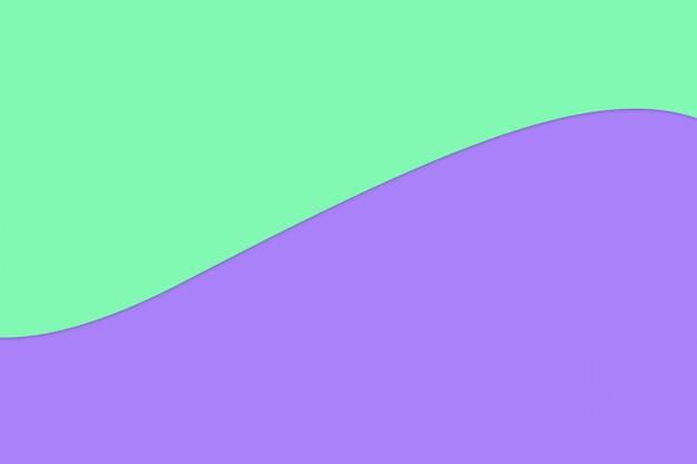 Colore di carta pastello verde e viola per il fondo di struttura