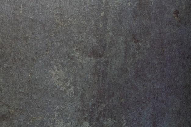 Colore di sfondo nero e grigio scuro di arte astratta, pittura multicolore su tela,